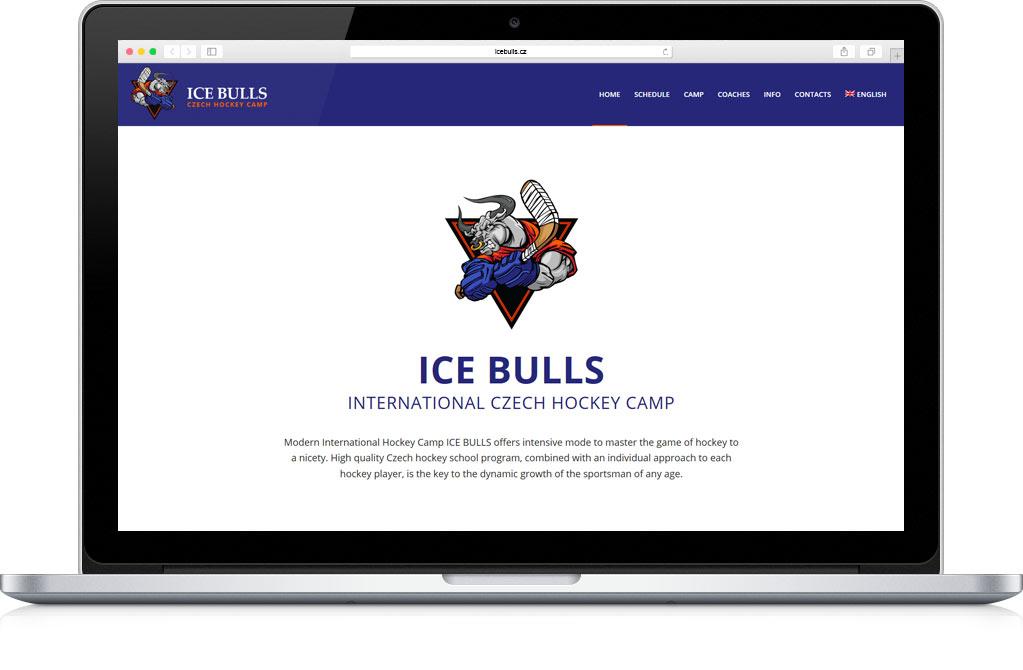 Ice Bulls Web design Wordpress