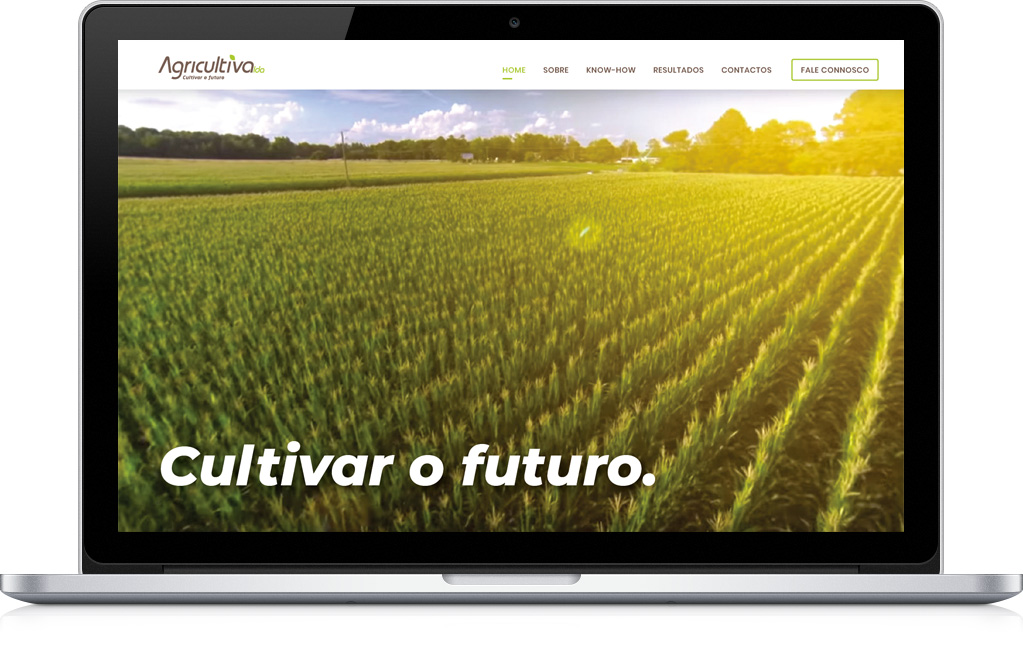 Agricultiva website design